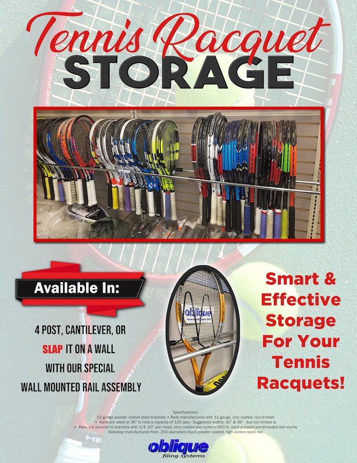 Tennis Racquet Storage