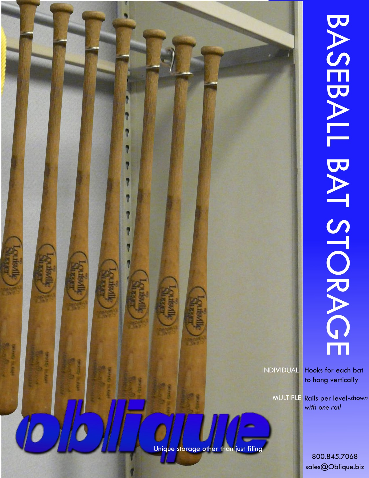 BASEBALL BAT Storage